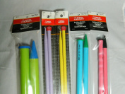 Knitting Needles Bundle Size 13, 15, 17, 19, 50 Broomstick Lace Pin - Single Point