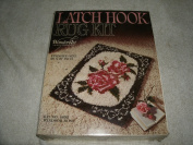 Vintage WonderArt Latch Hook Rug Kit #4652 Windsor Rose