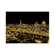 Lago Scratch Paper Famous City Night View Series Firenze Florence, Scratch Paper, Art Paper