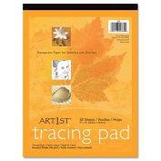 Art1St Parchment Tracing Paper, 9 X 12, 50 Sheets [Set of 3]