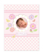 C.R. Gibson Baby Book- Flower