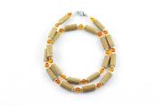 Healing Hazel Hazelamber Women/Teens Necklace, Gold/Amber