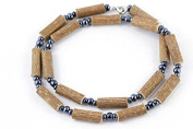 Healing Hazel Hazelwood Men/Teens Necklace, Hematite Beads