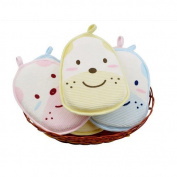 AUCH Newborn /Natural Breathe Freely /Soft Baby Bath Sponge/ Cartoon Great Soft Cotton Brush/ Rubbing Towel/ Ball /Baby Bath Foam Rub Shower Sponge,Random Colour