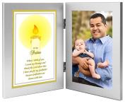 "Godfather Gift ""To My Padrino"" From Godchild - Baptism or Christmas Gift - Add Photo"