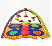 100% Cotton Baby Activity Mat /Educational Music Baby Play Gym Mat / Infant Floor Rug Baby Toys 0-12 Months