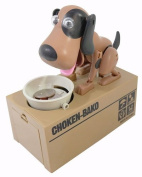 My Dog Piggy Bank - Mechanical Coin Eating Doggie Coin Holder