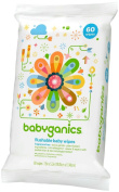 Babyganics Toddler Wipes Unscented 60ct