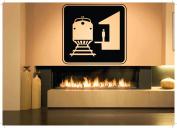 Wall Room Decor Art Vinyl Sticker Mural Decal Train Station Sign Logo AS2490