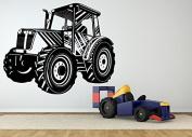 Wall Room Decor Art Vinyl Sticker Mural Decal Farm Field Tractor Vehicle AS2470
