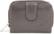 Ladies / Womens Small Soft Leather Wallet with Multiple Features