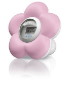 Philips Avent New Digital Baby Bath and Room Thermometer Scf550/21 - Girls Pink for Children. Ship Worldwide