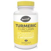 Organic Turmeric Curcumin Supplement with BioPerine Black Pepper Extract to Enhance Absorption |100% Pure, Standardised to 95% Curcuminoids | 120 Veg Capsules 500mg | Powerful Anti-Inflammatory & Antioxidant
