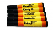 5pc Wood Furniture Touch Up Markers