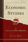 Economic Studies, Vol. 3