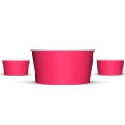 180ml Paper Hot/Cold Ice Cream Cups - 100ct