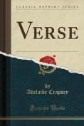 Verse (Classic Reprint)