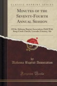 Minutes of the Seventy-Fourth Annual Session