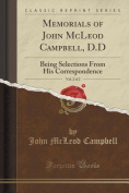 Memorials of John McLeod Campbell, D.D, Vol. 2 of 2
