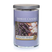 Yankee Candle Lavender Vanilla 650ml 2-Wick Tumbler Candle, Large
