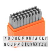 ImpressArt Basic Metal Stamp Set, Uppercase, 2.5mm