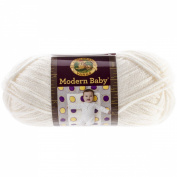 Lion Brand Yarn Modern Baby Yarn, Cream