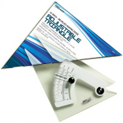 Pro Art 30cm Triangle with Magnifier, Inking Edge