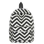 WensLTD Hotsale! Sweet Stripe Pattern Canvas Rucksack Backpacks