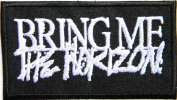 BRING ME THE HORIZON Heavy Metal Rock Punk Band Logo Music Patch Sew Iron on Embroidered Badge Sign Costume Gift