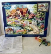 English Cottage, Paint-By-Number by Paintworks