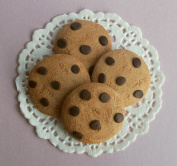Chocolate Chip Cookies Set of 4 - Perfect for 46cm American Girl® Dolls
