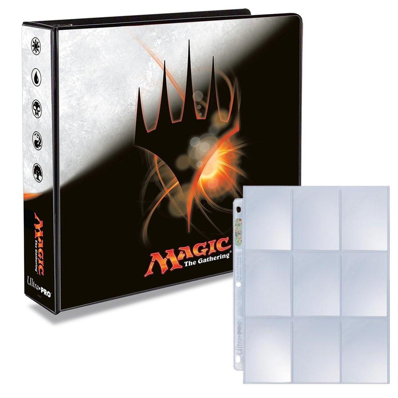 Magic Origins 3 Ring Binder With 25 Platinum Ultra Pro 9 Pocket