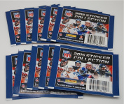 2015 NFL Sticker Collection - 10 Packs of 7 - 70 Stickers Total!