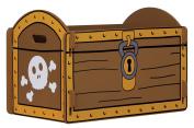 Kidsaw Pirate Treasure Toybox Chest