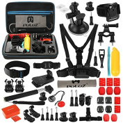 53 in 1 Accessories Combo Kit with EVA Case for Gopro