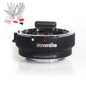 Commlite Auto-Focus Mount Adapter EF-NEX for Canon EF/EF-S Lens to Sony E Mount NEX A7 A7R Full Frame