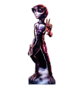 Roswell Alien Female - Advanced Graphics Life Size Cardboard Standup