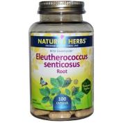 Nature's Herbs Eleutherococcus Senticosus Root -- 100 Capsules
