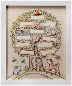 C.R. Gibson Family Tree Framed Art, Made with Love