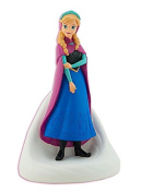23cm High Plastic Disney Princess Anna Frozen Coin Bank Moulded Coin Piggy Saving Bank with Pink Wallet