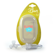 Bloom Baby Nasal Aspirator - BPA FREE - Soft Comfy Tip for Infant's Nose - Best Suction to Clear Nasal Congestion