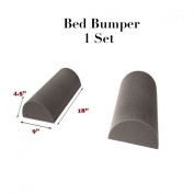 Baby Gate Foam Bed Rail for Toddlers Bedding Bumper Pad Safety Guard Rail 11cm x 23cm x 46cm , 1 Set