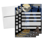 Wizard Castle Birthday Party Invitations & Envelopes Value Pack