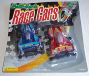 Pull Back Race Cars (2 Pack/2 Cars Total)