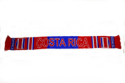 Costa Rica Country Flag Thick Scarf Scarves .. Great Quality .. New