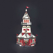 """Dept 56 North Pole Collection """"Santa's Lookout Tower""""-1993 #5629-4 Retired"""
