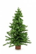 Christmas Tree 60cm Mini Pine Tree on Round Wooden Base