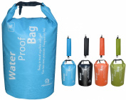 Freegrace Waterproof Lightweight Dry Sack/Dry Bags -Fits Perfectly in Your Backpack -Keeps Gear Dry for Kayaking, Beach, Rafting, Boating, Hiking, Camping and Fishing