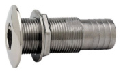 Attwood Stainless Steel Barbed Standard Length Straight Thru-Hull