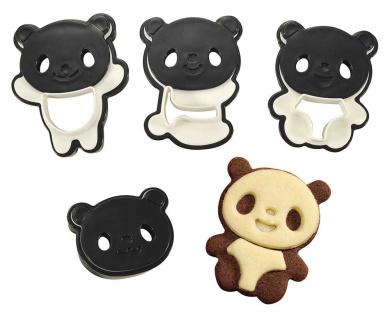 CuteZcute Panda Cookie Cutter Set